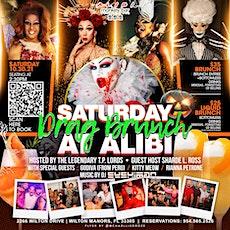 Saturday Drag Brunch at Alibi! tickets