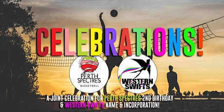 Celebrations: Perth Spectres & Western Swifts tickets