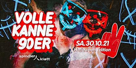 Volle Kanne 90er - Halloween Edition/ Neue Location: Spindler & Klatt Tickets