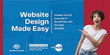 Website Design Made Easy tickets