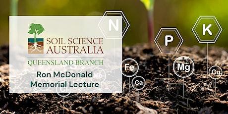 2021 Ron McDonald Memorial Lecture tickets