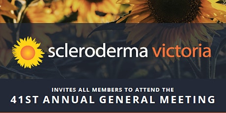Scleroderma Victoria's 41st Annual General Meeting tickets