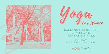 Yoga For Women @ Kallang Riverside Park tickets