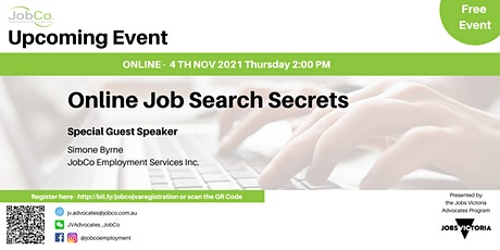 Understanding Online Job Search tickets