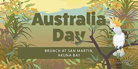Australia Day Brunch tickets