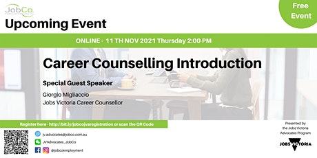 Career Counselling introduction tickets
