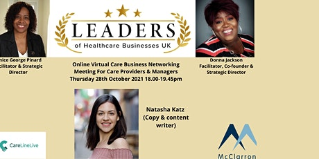 LEADERS OF HEALTHCARE BUSINESSES UK, NETWORKING MEETING tickets