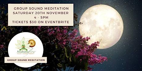 Group Sound Meditation – Full Moon Meditation tickets