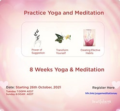Practice Yoga and Meditation tickets
