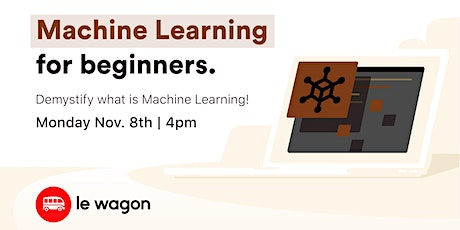 Machine Learning for Beginners tickets