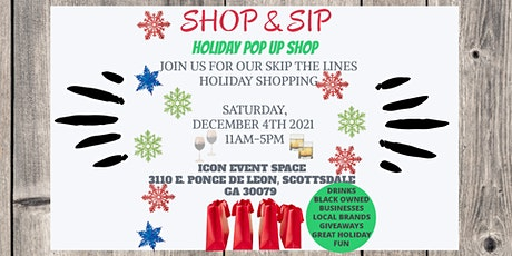 Shop and Sip Holiday Pop Up Shop tickets