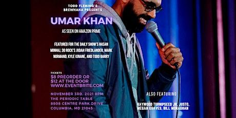Todd Fleming's BrewHaha Comedy starring Umar Khan tickets