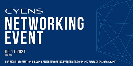 CYENS Networking Event tickets