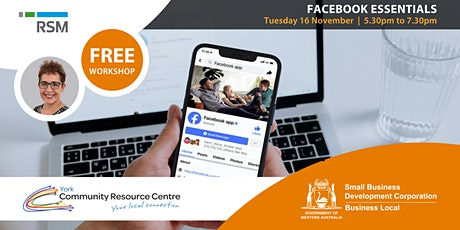 Facebook Essentials for Small Business (York) tickets
