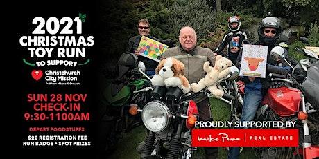 2021 Christchurch Toy Run tickets