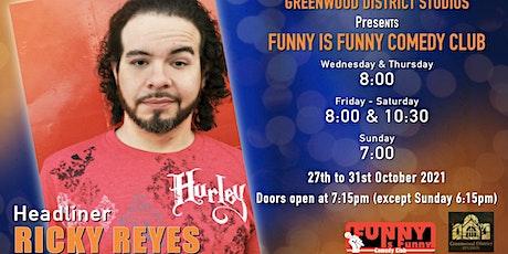 Ricky Reyes LIVE tickets