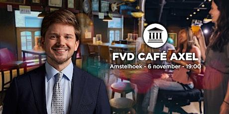 FVD Café Axel met Gideon van Meijeren tickets