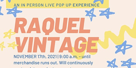 RAQUEL Vintage Collective $1.00 Pop Up Experience tickets