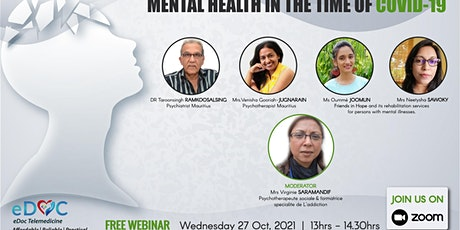 eDoc Webinar: Mental health in the time of Covid 19 tickets