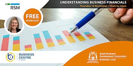 Understanding Business Financials (Karratha) tickets