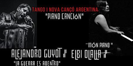 Tango i nova cancó Argentina entradas