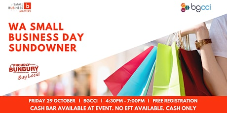 WA Small Business Day Sundowner tickets