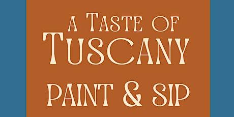 Tuscan Paint & Sip Class at Sarabah tickets