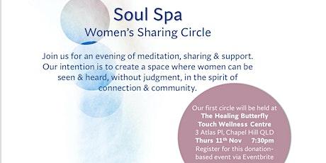 Soul Spa - Women's sharing circle tickets