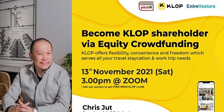 Become KLOP shareholder via Equity Crowdfunding tickets