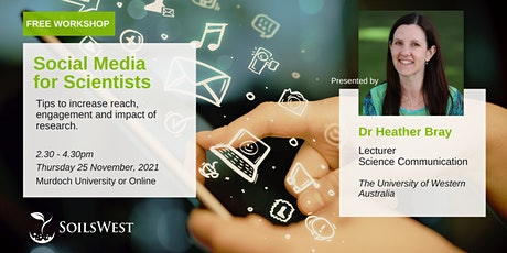 Social Media for Scientists tickets