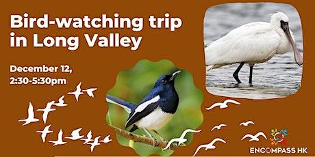 Bird-watching trip in Long Valley tickets