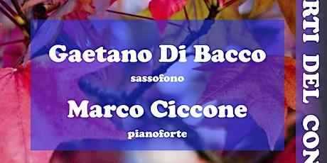 Autunno in concerto – Il Sassofono nel Romanticismo biglietti