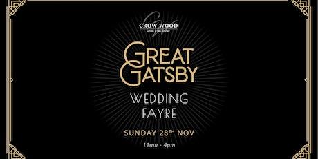 Great Gatsby Wedding Fayre at Crow Wood Hotel tickets