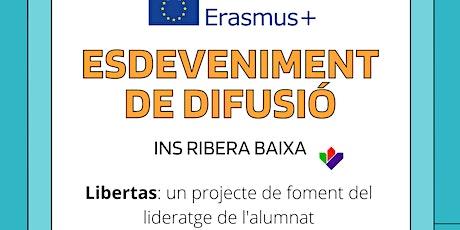 ESDEVENIMENT DE DIFUSIÓ ERASMUS + entradas