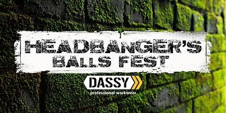Headbanger's Balls Fest 2022 tickets