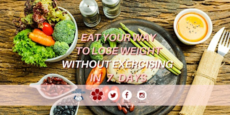 EAT YOUR WAY TO LOSE WEIGHT WITHOUT EXERCISING IN 7 DAYS tickets