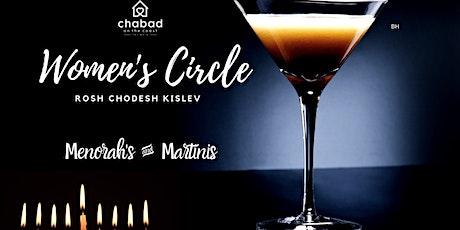 Women's Circle - Menorah's & Matinis tickets