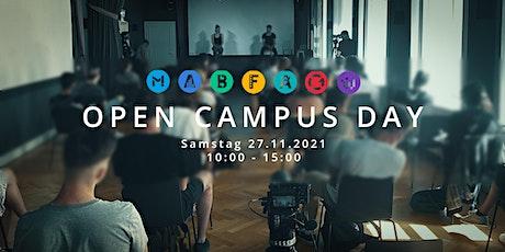 """SAE Institute Wien - """"OPEN CAMPUS DAY"""" - vor Ort Tickets"""