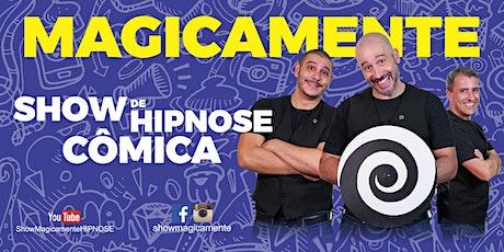 Show de Hipnose Cômica - MAGICAMENTE ingressos