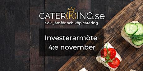 Investment möte för Caterking.se tickets