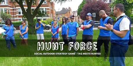 Run to locations while evading the hunters - Hunt Force strategy game tickets