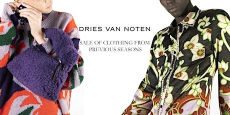 Sales Previous Seasons - Dries Van Noten tickets