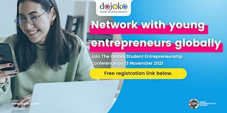 Global Student Entrepreneurship Conference tickets