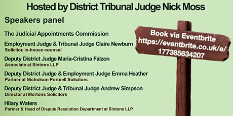 Solicitors as Judges tickets