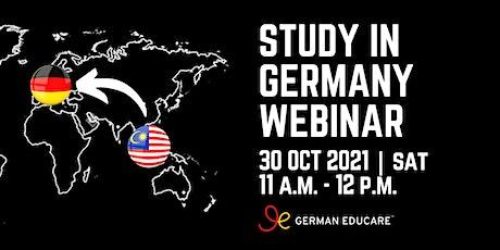 World Class Education - Study in Germany Webinar tickets