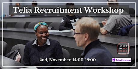 Telia Recruitment Workshop tickets