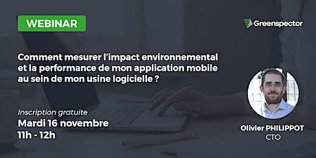 Comment mesurer l'impact environnemental de mon application mobile ? billets