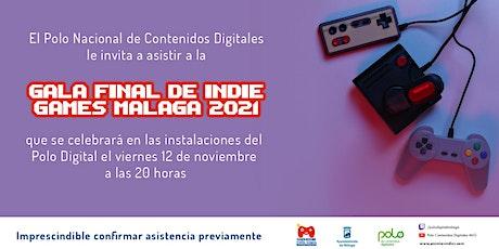 Gala Premios  Indie Games Málaga 2021 entradas