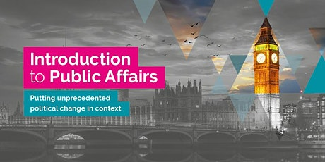 An Introduction to Public Affairs - Virtual Training Session tickets