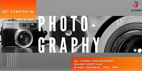 Get Started In: Photography | All Things Photography tickets